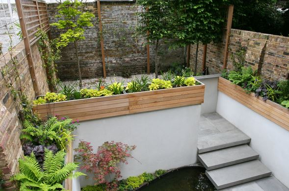 jardin de pequeñas dimensiones